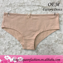 Underwear Supplier latest panti simple pure color very cheap underwear pantie styles