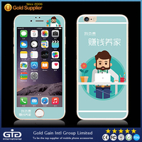 [GGIT] Mobile Phone Accessories Colorful Tempered Glass Screen Protector for iPhone 6