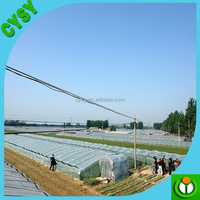 Hot sale!! agricultural woven transparent pe plastic film greenhouse