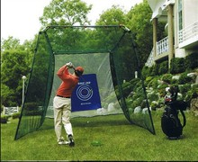 High performance inflatable golf net
