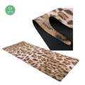 Dropship custom print eco yoga mat, leopard designed fitness yoga mat