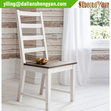 Dining wooden antique chair without arms