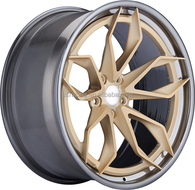 "Best-Selling 20""Best-Selling 2-Piece Forged Wheels/20inch 2-<strong>PC</strong> Gold Forged Wheels"