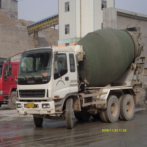 Concrete mixer truck drum cover keep warm keep cold