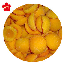 Wholesales bulk High quality IQF Frozen Yellow peach half