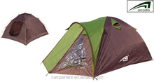 large two layer camping family tent