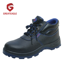 Steel Toe and Steel Midsole Base Design Safety Shoes
