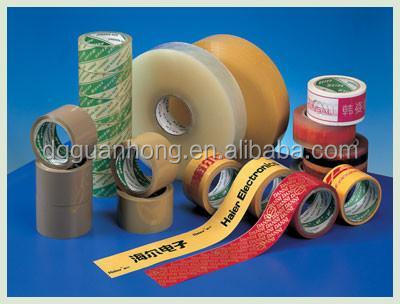 Transparent Industrial Single Side BOPP Adhesive Tape With Good Adhesive