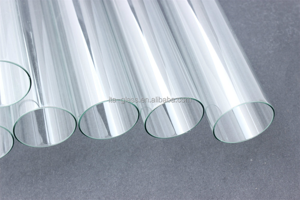 Customized soda lime glass tube manufacturer for LED lamp