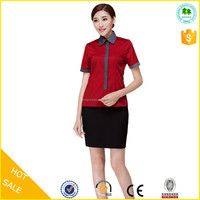 High quality fashion hotel receptionist dress uniforms for sale