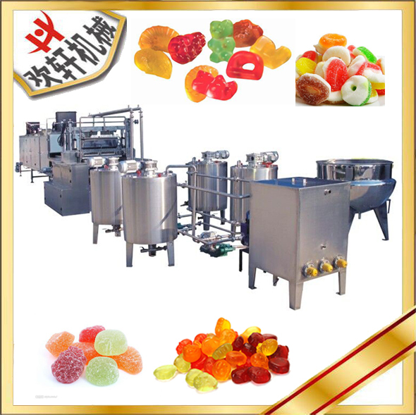 China Wholesale Market center filled gummy candy making machine