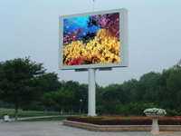 new products full color p10 led backpack billboard