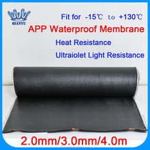 APP Modified Bitumen Bituminous Waterproofing Membrane Sheets Low Price 2mm 3mm 4mm Thickness