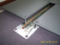 Access Floor Underfloor Trunking Panel System Cable Tray