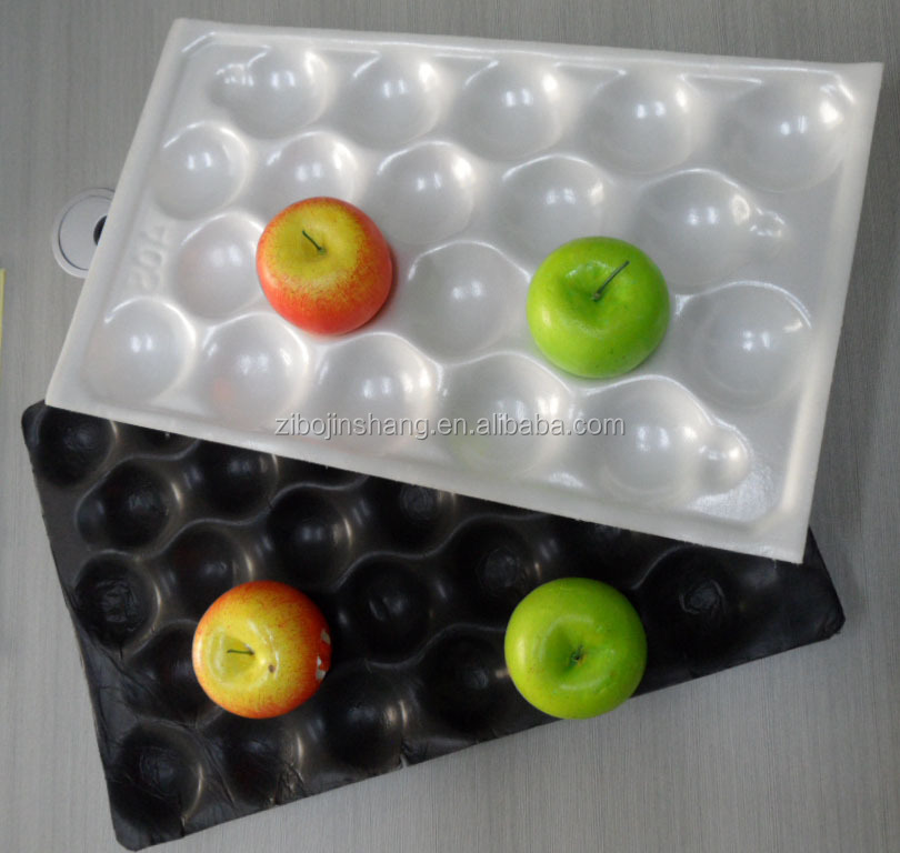 pp pvc ps pe fruit trays, colorful fruit plate