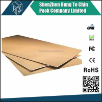 packaging paper box cardboard sheets e flute corrugated board