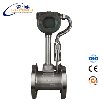 1.6 Mpa Stainless steel Material Top Ranking Product Vortex Steam Gas Air Mass Flow Meter
