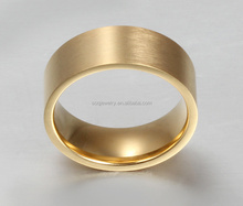 Stainless Steel brass rings 2015 Latest Womens Wedding Jewelry Luxury 18k Gold Rings