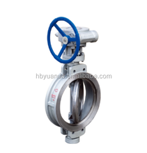 WCB/CAST STEEL Triple Eccentric Worm Gear Driven wafer type butterfly valve D373H/F/X-6C/10C/16C/25