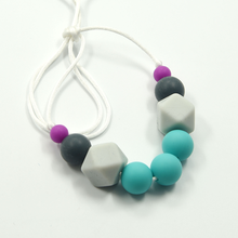 Wholesale Food Grade Silicone Necklace Hot Sale Teething Beads Necklace
