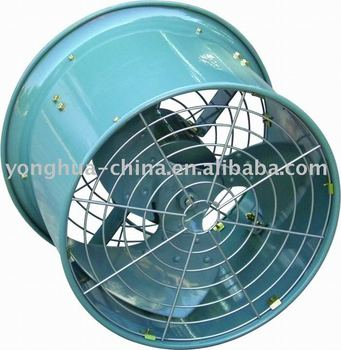Heavy-duty low noise axial Fan