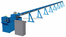 Hydraulic steel wire straightening&cutting machine