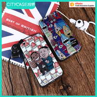 city&case pc tpu cell phone case for iPhone6 6s