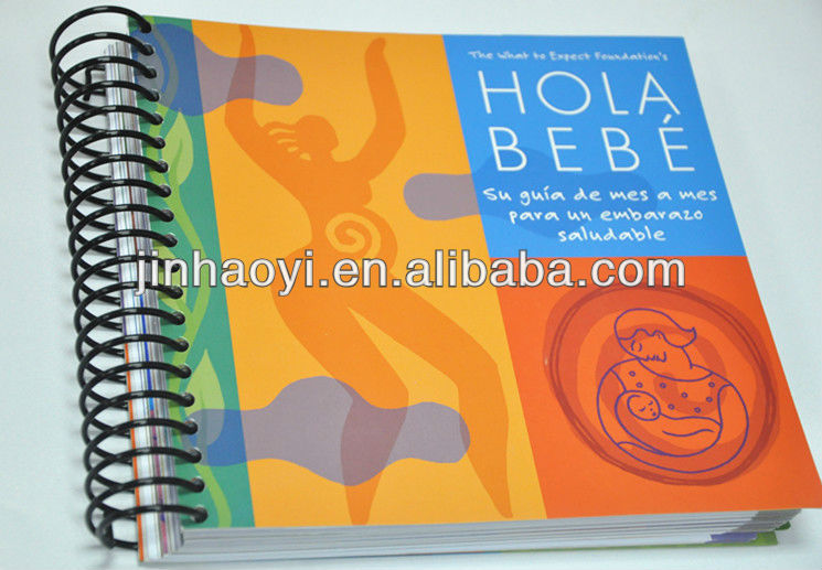 custom made diary,A5 notebook printing,Spiral Planner notebook printing