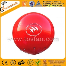 Custom made advertising inflatable balloons helium balloon F2055