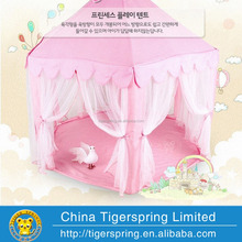 Pink Hexagon Kids Play Tent Big Children's Tent Playhouse with Mesh