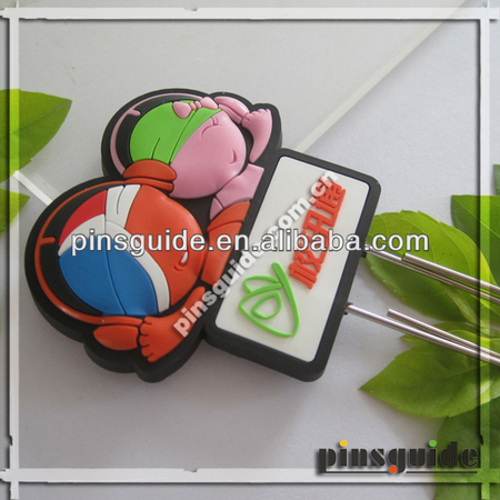 Pinsguide Paper Clips with Soft PVC Materials