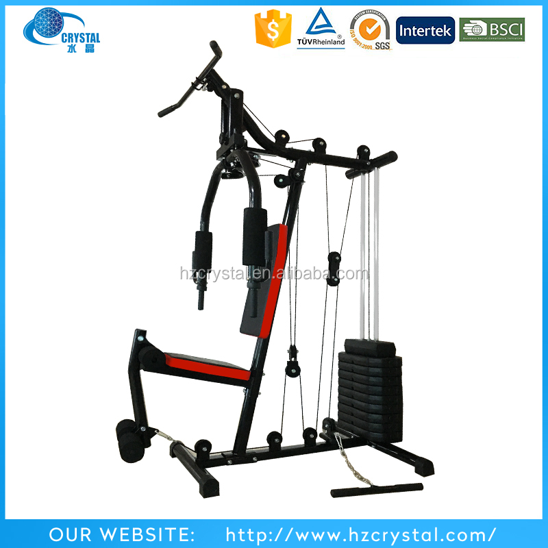 SJ-Z001 Hot sale Single Stack Fitness Gym Equipment With 65KG Weight Set