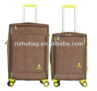 Spinner wheels aluminum trolley suitcase