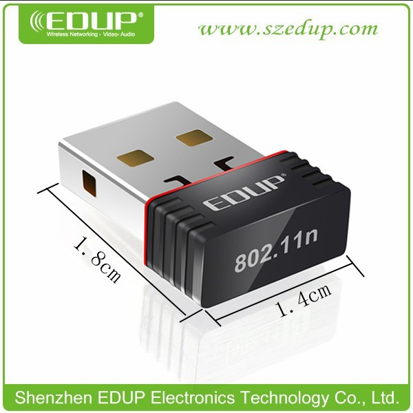 EDUP EP-N8508 ieee802.11n usb wifi serial lan adapter wireless dongle