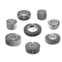 Led 30W Aluminum Extrusion Round Heat Sink