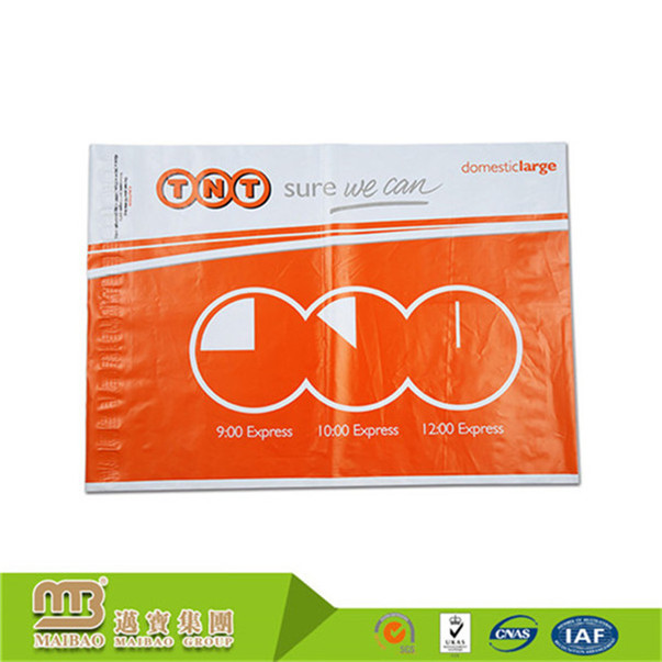 Factory promotional gravuer printed 11 colors max eco-friendly heavy duty shipping delivery plastic bag