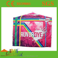 2016 China manufacture Top quality full color printed outdoor commercial sunshade advertising tent