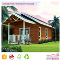 Indian economy log house low price wooden house