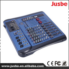 Professional sound dj equipment 8-channel sound mixer dj mixer with USB