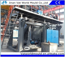 1000L-3000L Super Large Capacity Tank Blow Making Machinery