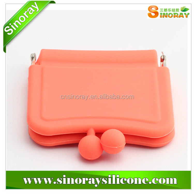 Wholesale China silicone rubber coin purses,silicone smart wallet