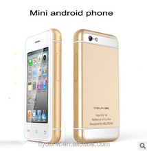 Mini size smartphone melrose s9 android 4.4 mtk6572 dual core smart card phone s9.
