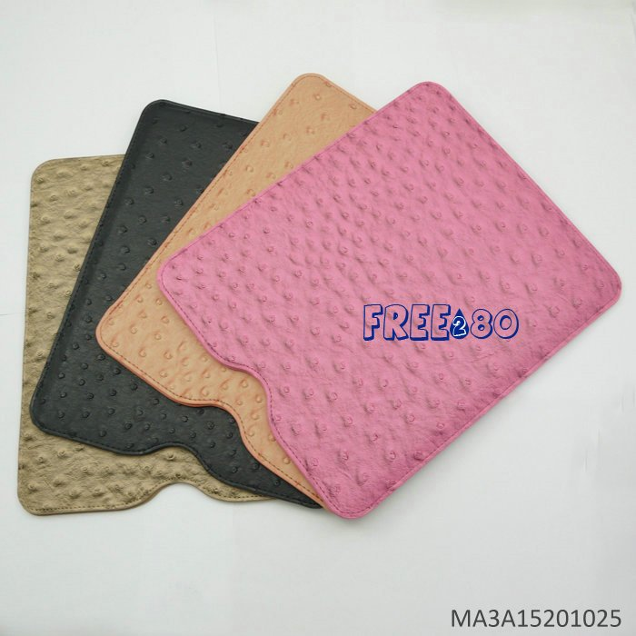 Ostrich Sleeve Bag Case for ipad2 / iPad3 / the new ipad