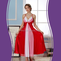 Factory direct promotional high market girls sexy sleeping dress