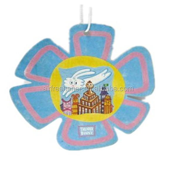 lovely air freshener customized hang tag Scented Card Car Air Fresheners For Cars