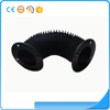 Automative parts custom round flexible rubber bellow tube