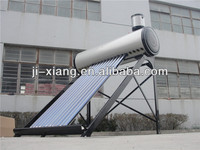 Aluminum Alloy Type solar water heater with water fitting
