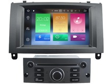 HD Octa Core 2gb RAM 32gb ROM Android 6.0 car dvd player fit for Peugeot 407 stereo autoradio audio multimedia headunit GPS navi
