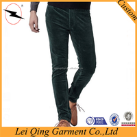 Mens fashion factory 100%cotton heavy corduroy pants