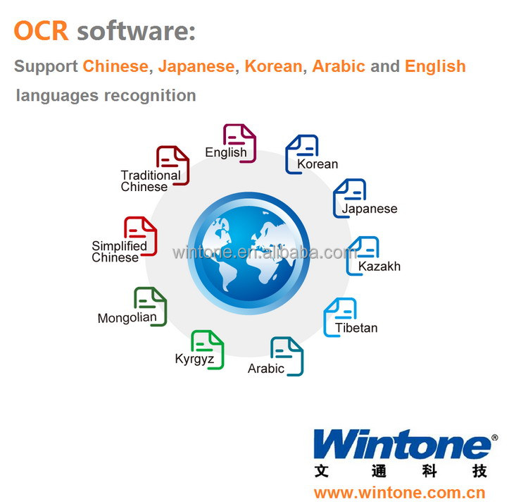 Factory Korean character recognition,pdf OCR software